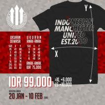 Official Tshirt Indomanutd